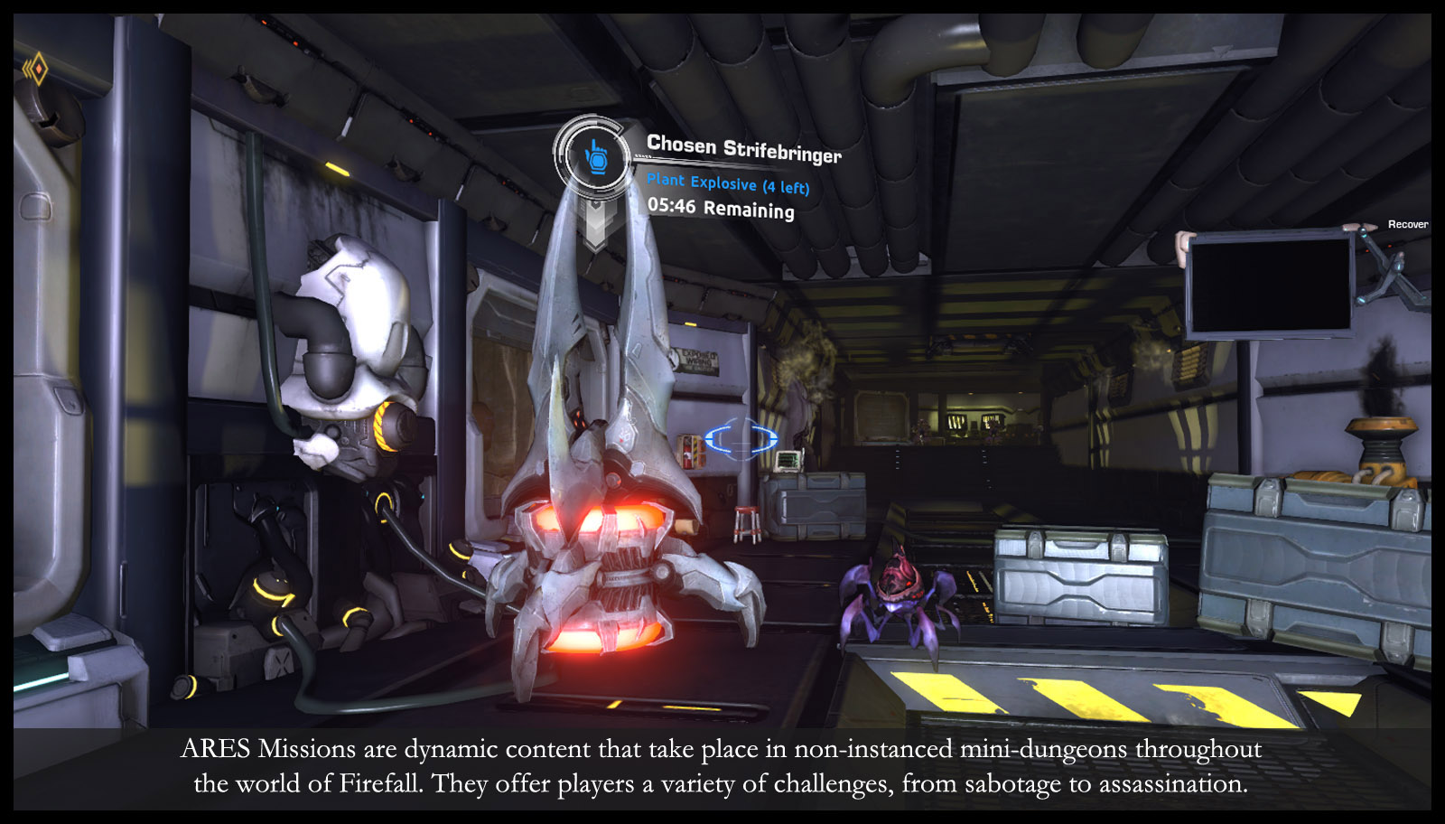 Firefall & Dyanmic Content: ARES Missions